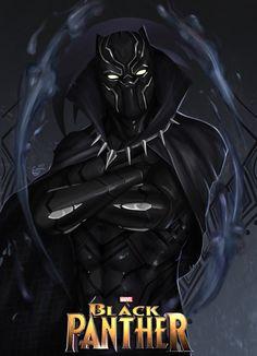 Rise Of Wakanda Spirit by SaifuddinDayana