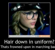 Wow Taylor you will never be a true band nerd