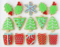 Image result for decorated christmas biscuits