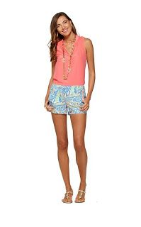 Lilly Pulitzer- Liza Short in Get Nauti Summer Outfits, Cute Outfits, Summer Clothes, Preppy Clothes, Resort Wear For Women, Classy And Fabulous, Fashion Outfits, Womens Fashion, Denim Fashion