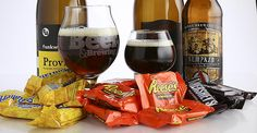 Trick-or-treating is about to take on a whole new meaning for grown-ups. We present the Craft Beer & Brewing candy and craft-beer pairings for Halloween.