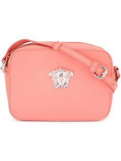 VERSACE 'Palazzo' crossbody bag. #versace #bags #shoulder bags #leather #crossbody #
