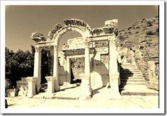 Hadrian Temple in Ephesus, Turkey