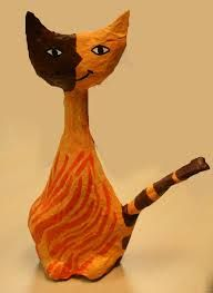 Katten zoals Rosina Wachtmeister in 3D