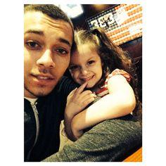 #KalinWhite with his little sister #LaLa -- Follow me on Twitter and IG  -- Tinkrbellbeauty   I ♥ you KAMFAM :)