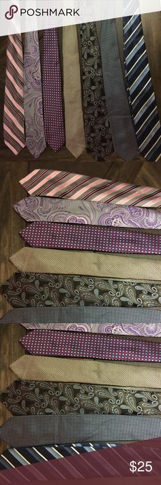 7 Men's Ties 7 Men's Ties all brands...Price includes all 7!! Can be sold individually! Offers considered! Accessories Ties
