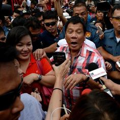 Rodrigo Duterte has warned journalists in the Philippines that they are legitimate targets for assassination if they do wrong. Sinulog, Rodrigo Duterte, Economic Policy, Cebu City, Vladimir Putin, The Only Way, Men Looks, Assassin, How To Be Outgoing