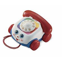 Great DS Toys: Use this to work on Es's finger isolation (fine motor), communication (watching mouth movement) and ending (hanging up phone, moving dial)