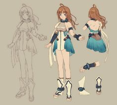 Aemo Concept from Final Fantasy Dimensions II