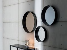 Download the catalogue and request prices of Horizon By sovet italia, round wall-mounted framed mirror