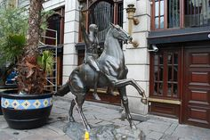 Dublin - Lady Godiva Statue Johnson's Place