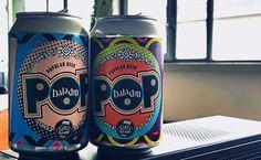 Baladin POP (popular beer) la prima birra artigianale italiana  IN LATTINA… La grafica si ispira a quello che è stato uno dei movimenti culturali più rappresentativi del secolo scorso: la musica pop. #DESIGN #birra #baladin #top