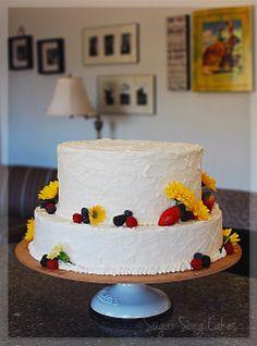 A mini replica of Bilbo's birthday cake.
