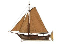 Dutch Sailing Cargo Schokker - National Maritime Museum