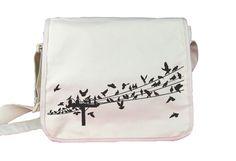 Birds Messenger Bag