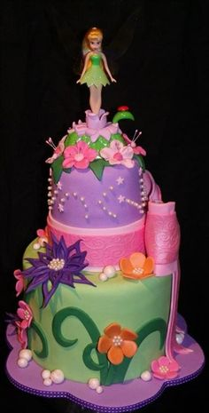 tinker bell cake found on Google search
