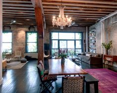 30 façons de créer une ambiance industrielle dans un salon