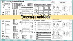 15 Atividades unidade e dezena para imprimir Professor, Diagram, 1, Blog, Tens And Units, Multiplication Activities, Magic Words, Kids Education, Ant