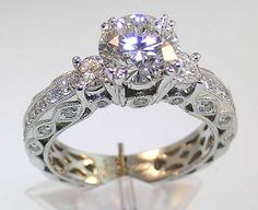 Victorian Style Engagement Rings--Amazing
