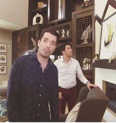 Jonathan & Drew at their newly renovated home..(clm)