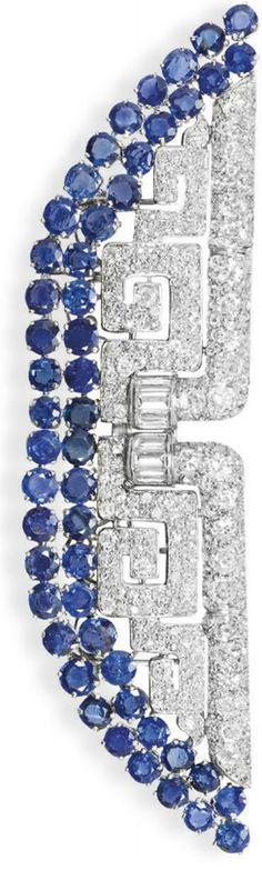 Art Deco brooch, Christies