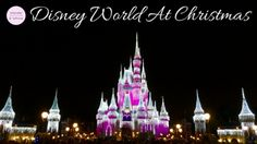 Tips and tricks in planning your Christmas trip to Walt Disney World Orlando.