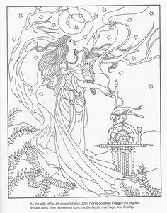 Frigg - Norse Goddess
