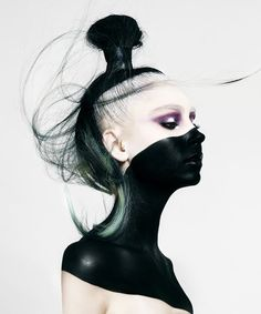 Australian Colour Technician of the Year Finalist - Belinda Keeley Creative Hairstyles, Cool Hairstyles, Makeup Art, Hair Makeup, Hair Expo, Avant Garde Hair, Make Up Inspiration, Hair Reference, Beauty Shots