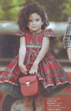 vestido escoces niña   vestido escoces para nena invierno 2014 by Girls boutique Diseños ...