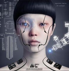Cyborg Girls Photo manipulations