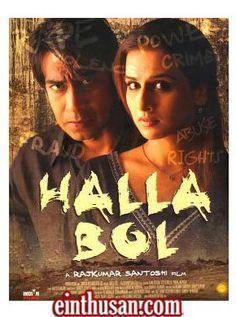 Halla Bol Hindi Movie Online - Ajay Devgn, Vidya Balan and Pankaj Kapoor. Directed by Rajkumar Santoshi. Music by Sukhwinder Singh. 2008[U/A] w.eng.subs