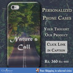 Buy Personalized printed mobile case just @ Rs.
