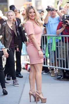 Hilary Duff - Leaving Sirius Studios in NYC - 06/27/17