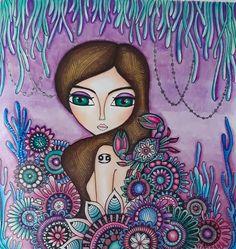 Purple Painting, Character Design Girl, Indian Art Paintings, Angel Art, Painting For Kids, Anime Art Girl, Face Art, Artist Art, Disney Art