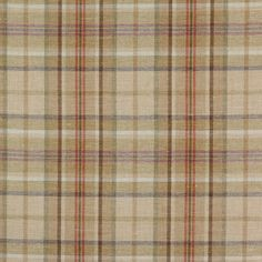Colefax & Fowler Oban Plaid Fabric F3308/01 Colour Beige Repeat 29cms approx Width 144cms approx Composition 75% Wool 25% Linen Origin United Kingdom Fire Code √BH Care Code (?) Pattern Book Sutherland Use Curtains Upholstery