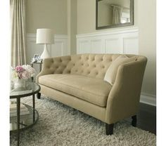 Azure sofa - maybe lavender is too girly?