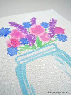 https://www.etsy.com/shop/MiniMasterpiecesAZ  #watercolor #watercolorpainting #arizona #originalart #handmade #paintedwithlove #watercolorpaint #watercolorart #minimasterpiecesaz