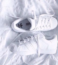 All-white Superstar ♥