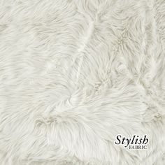 Anthropologie Sample Faux Fur Long Pile Fabric In Dusty Pink