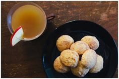spiced apple cider and butternut squash snickerdoodles