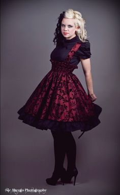 steampunk wear for women | Gothic Steampunk Dress | The Style Trenches