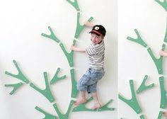 Creative ideas for you: Indoor Climbing Wall Idea