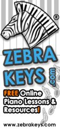 Free Piano Lessons for various levels-mostly for older children, adults, and parents