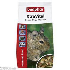 Beaphar Xtravital Degu Food - Foods - Small Animal - Chinchilla, Chipmunk & Degu (1 Kg)