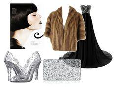 """Вечерний образ для яркой брюнетки"" by re-86 on Polyvore featuring мода, Edie Parker и Dolce&Gabbana"