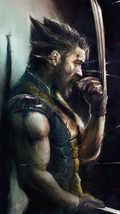 "imthenic: ""Tom Hardy as the Wolverine by Jimmy Vong """