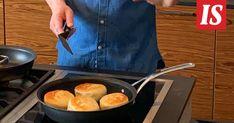 Hans Välimäki kokkaa Ruokalan lukijoille omasta kotikeittiöstään. Griddle Pan, Waiting, Egg, Grill Pan, Eggs, Egg As Food