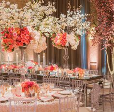 Fabulous, frilly florals fill @Four Seasons Hotel Los Angeles at Beverly Hills' ballroom.