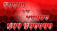 Fonte de Letras com Corações (All Hearts) | Bait69blogspot
