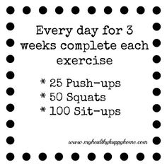 Get your body Summer Ready with this super easy 3 week challenge!